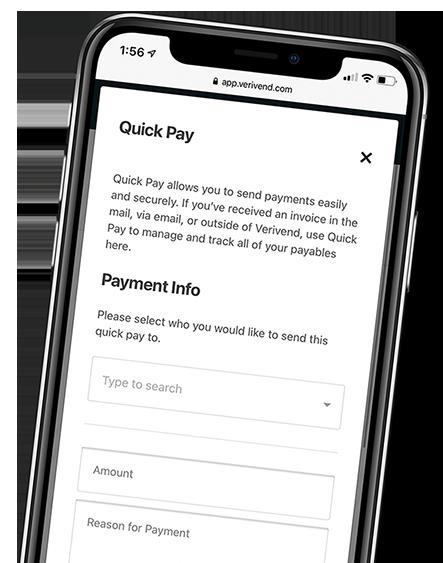 site screenshot on phone